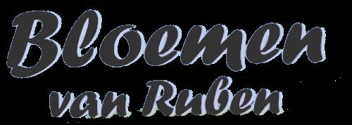 Logo Bloemen van Ruben